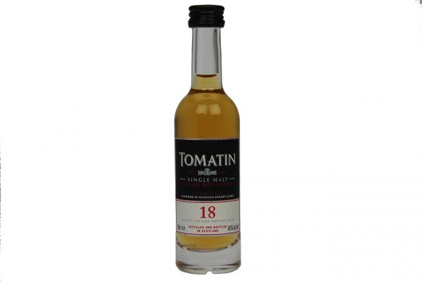 Tomatin 18YO 0,05 Liter 46%