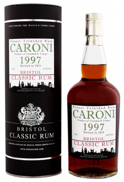 Bristol Caroni Trinidad & Tobago 1997/2016 0,7 Liter 61,5%