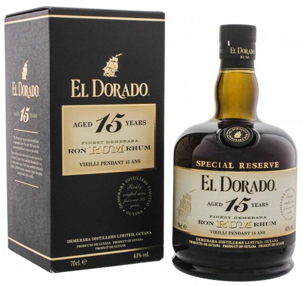 El Dorado 15YO 0,7 Liter 43%
