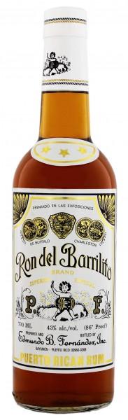 Ron de Barrilito Superior Especial  0,7 Liter