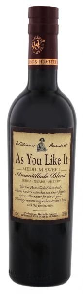 Williams & Humbert As You Like It Medium Sweet Sherry 0,375 Liter 20,5%