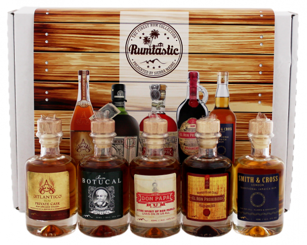 Rum Tastingset 5 x 0,04 Liter