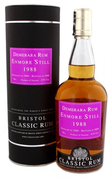 Bristol Enmore Still Rum 1988/2008 0,7 Liter 43%