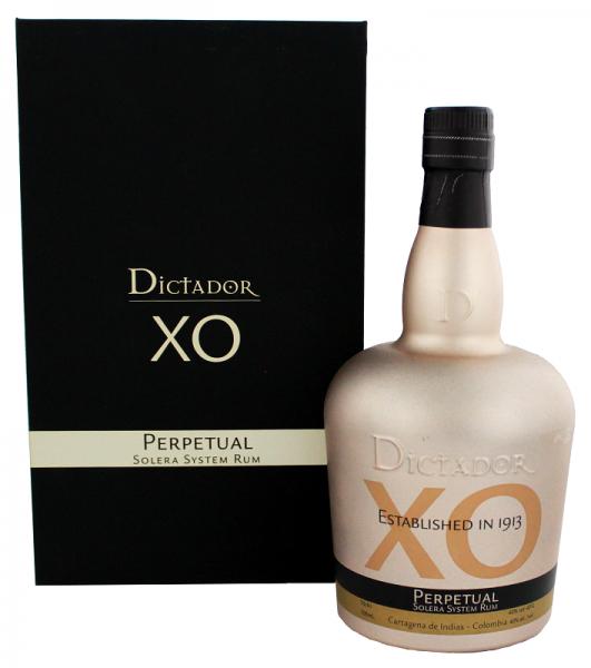 Dictador XO Perpetual Rum 0,7 Liter 40%
