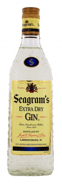Seagram's Extra Dry Gin- USA 0,7L