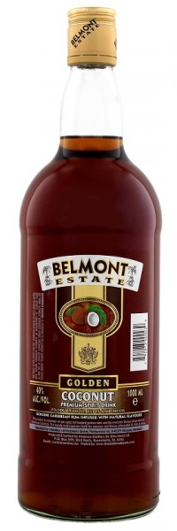 Belmont Estate Gold Coconut 1 Liter