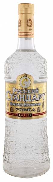 Russian Standart Vodka Gold 1 Liter 40%