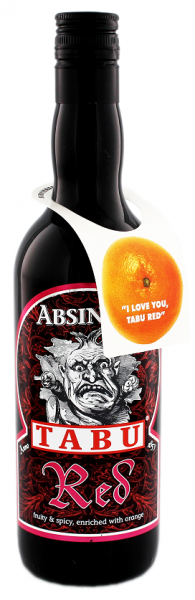 Tabu Absinth Red 0,7 Liter 55%
