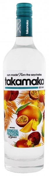 Takamaka Mango & Passion Liqueur 0,7 Liter 25%