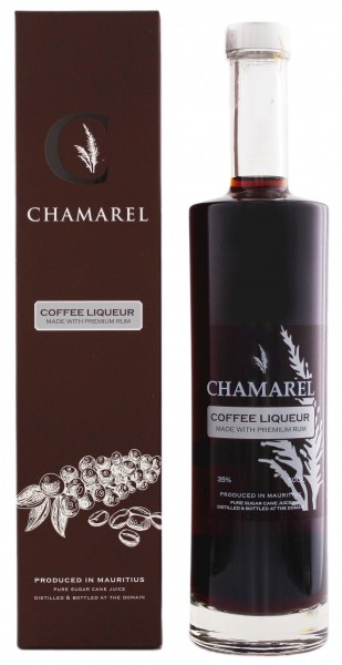 Chamarel Coffee Liqueur 0,5 Liter 35%