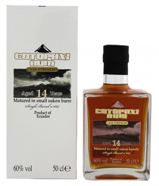 Cotopaxi 14YO Single Barrel Overproof Rum 0,5 Liter 60%