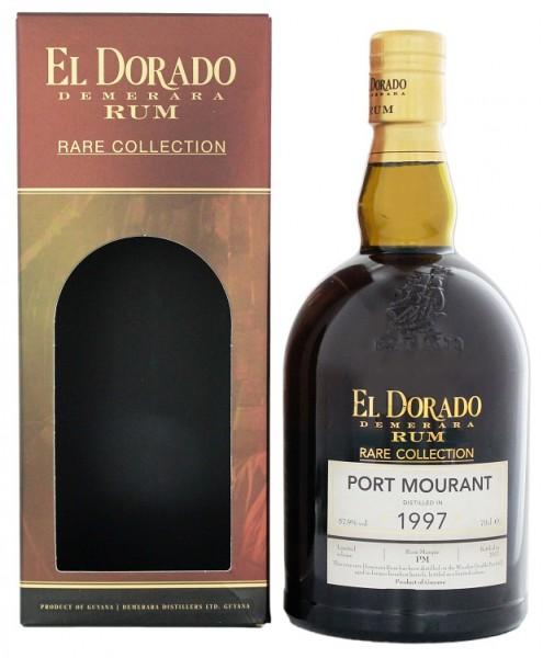 El Dorado Demerara Port Mourant 1997 Rare Rum 0,7 Liter 57,9%