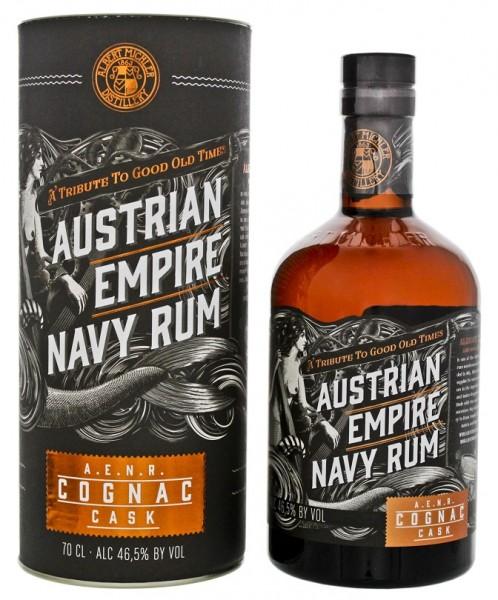Austrian Empire Navy Rum Cognac Cask 0,7 Liter 46,5%