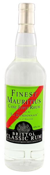 Bristol Classic Mauritius White Rhum 0,7 Liter 43%