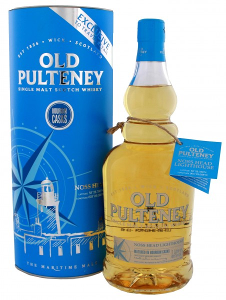 Old Pulteney Noss Head Lighthouse Single Malt Scotch Whisky 1 Liter 46%