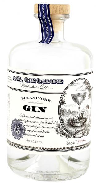 St. George Botanivore Gin 0,7 Liter 45%