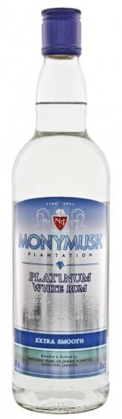 Monymusk Plantation Platinum White Rum 0,7 Liter 40%