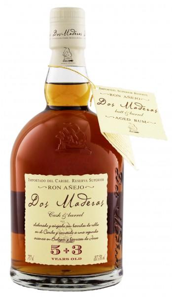 Dos Maderas 5+3YO Rum 0,7 Liter 37,5%