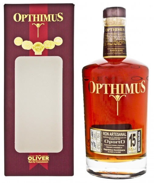 Opthimus 15YO Oporto Rum 0,7 Liter 43%
