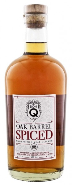 DON Q Oak Barrel Spiced 0,7 Liter 45%