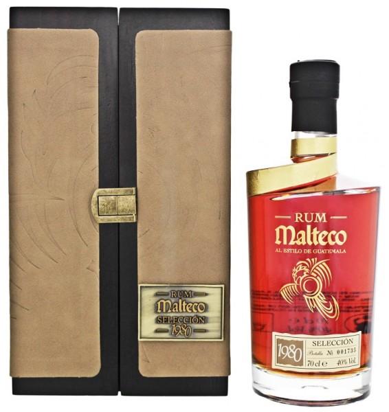 Malteco Seleccion 1980 Rum 0,7 Liter 40%