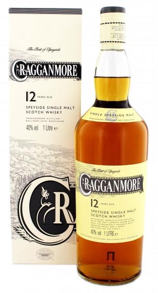Cragganmore 12YO Single Malt Whisky 1 Liter 40%