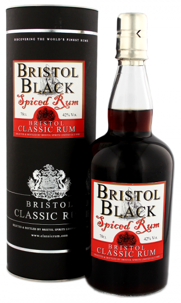 Bristol Black Spiced 0,7 Liter
