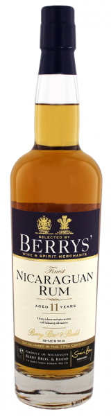 Berry´s Own Selection Finest Nicaraguan Rum 11YO 0,7 Liter