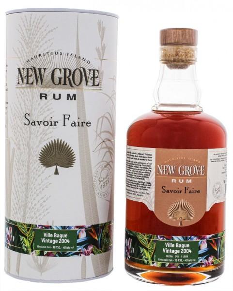 New Grove 2004 Savoire Faire Villa Bague Vintage Rum 0,7 Liter 45%