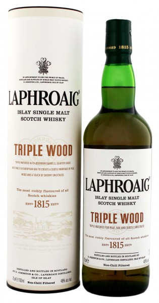 Laphroaig Triple Wood 0,7 Liter