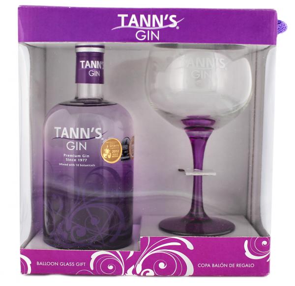 Tann's Gin mit Glas 0,7 Liter