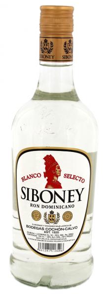 Siboney Blanco Selecto Rum 0,7 Liter 38%