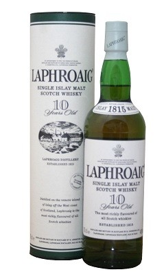 Laphroaig Malt Whisky 10YO 0,7 Liter