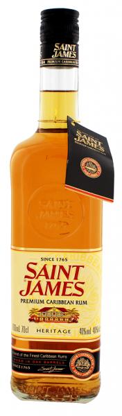 Saint James Premium Caribbean Heritage 0,7 Liter