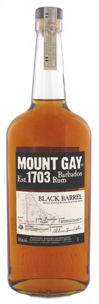 Mount Gay Black Barrel Rum 1 Liter 43%