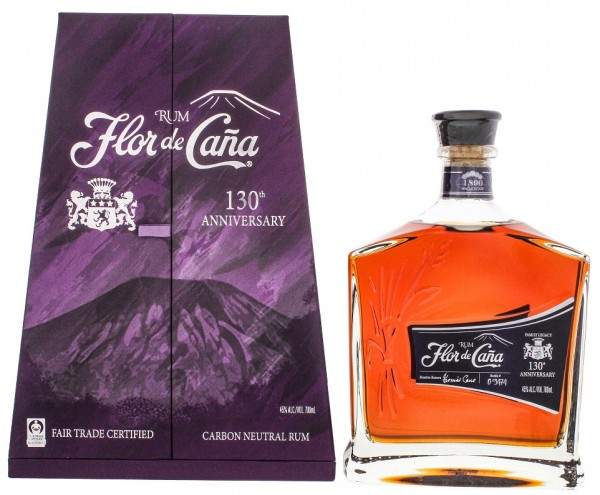 Flor de Cana 130th Anniversary Rum 0,7 Liter 45%