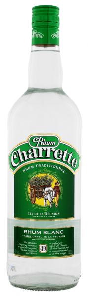 Charrette Traditionnel Blanc Rum 1 Liter 49%