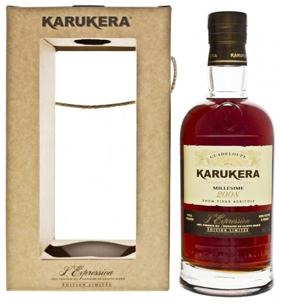 Karukera 2008 Expression Rhum 0,7 Liter 48,1%