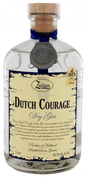 Zuidam Dutch Courage Dry Gin 1 Liter