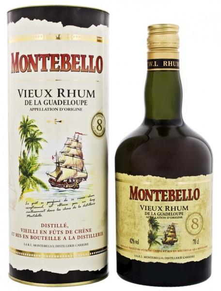 Montebello 8YO Vieux Rhum (GB) 0,7 Liter 42%