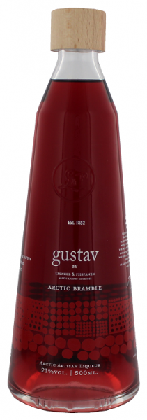 Gustav Arctic Bramble Liqueur 0,5 Liter 21%