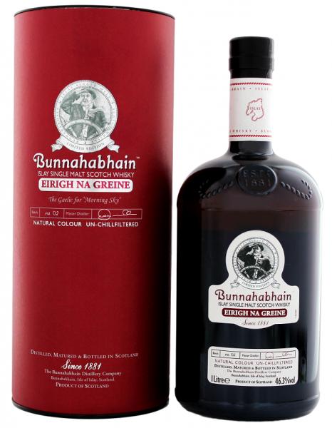 Bunnahabhain Eirigh Na Greine Single Malt Whisky 1 Liter 46,3%
