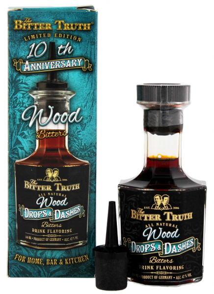 The Bitter Truth Bitter Drops & Dashes Wood 0,1 Liter