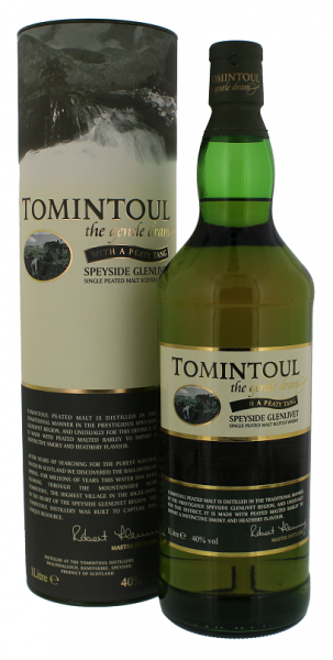 "Tomintoul ""With A Peaty Tang"" 1 Liter 40%"