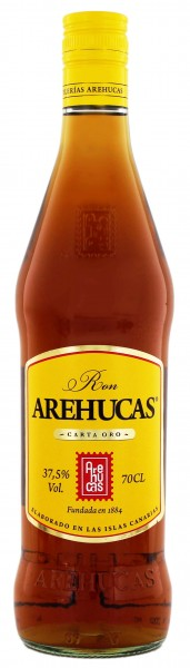 Arehucas Oro Rum 0,7 Liter 37,5%