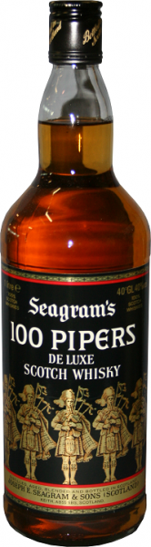 Seagram's 100 Pipers 1 Liter 40%