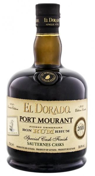 El Dorado Port Mourant 2000/2018 Sauternes Special Cask Finish Rum 0,7 Liter 58,6%