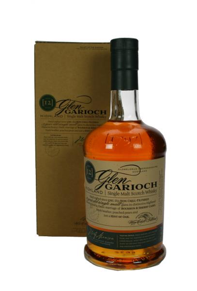 Glen Garioch Single Malt Scoutch Whisky 12YO 1 Liter
