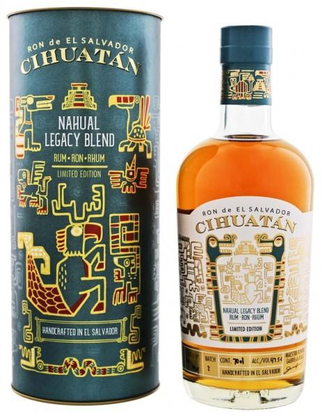 Ron de El Salvador Cihuatan Nahual Legacy Blend Rum (Batch 2) 0,7 Liter 47,5%