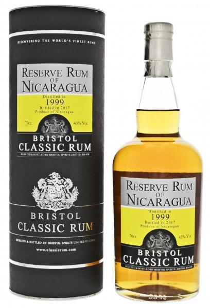Bristol Reserve Rum of Nicaragua 1999/2017 0,7 Liter 43%
